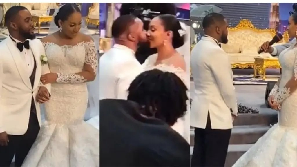 Photos And Videos From Actor, Williams Uchemba's Church Wedding