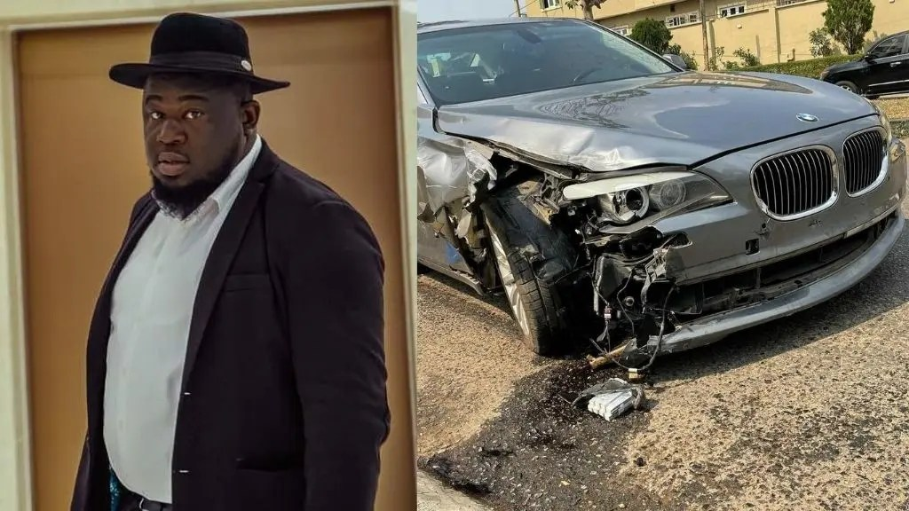 Talent Manager, Soso Soberekon survives car accident (photo)