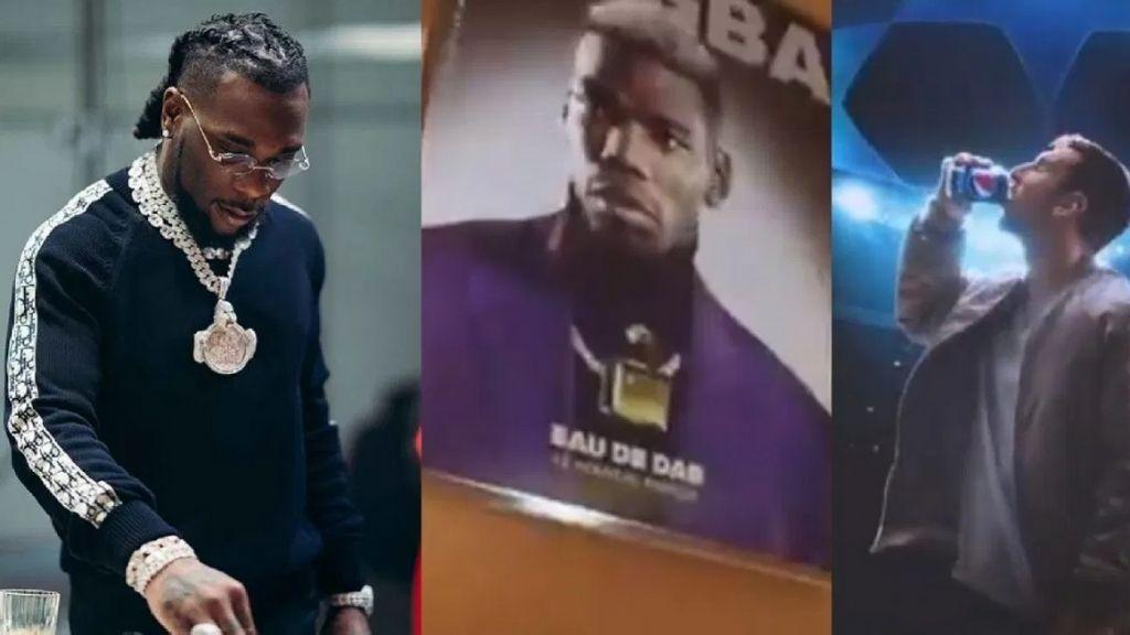 Burna Boy features alongside Messi, Pogba in Pepsi's advert (Video)
