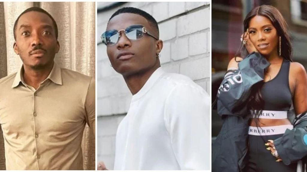 _Wizkid blow Tiwa, I know say you go blow Tems_ - Bovi's tells singer, see his reaction (video)