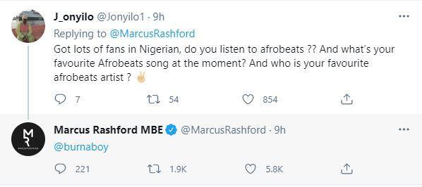 Rashford and Burnaboy