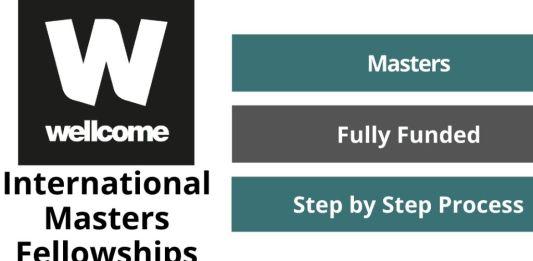 Wellcome International Master's Fellowships