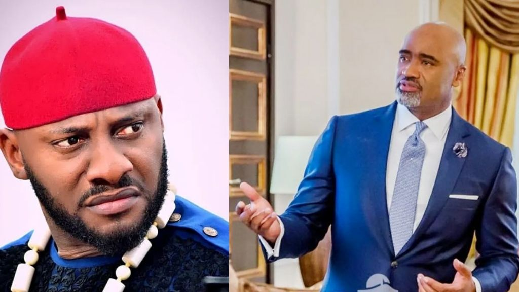 'I will not run from my fatherland' Yul Edochie disagree with Paul Adefarasin over escape route out of Nigeria