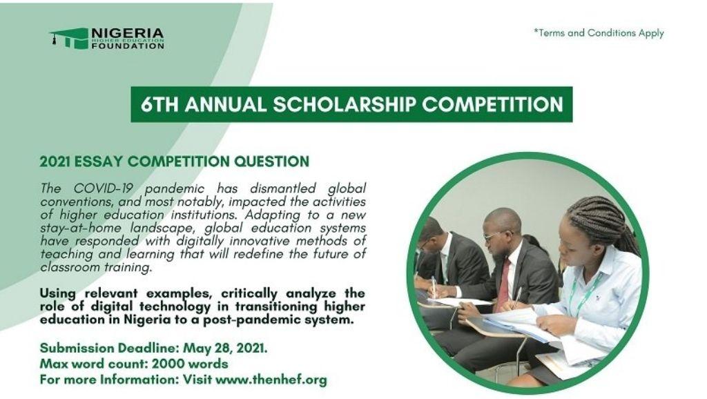 2021 Nigeria Higher Education Foundation