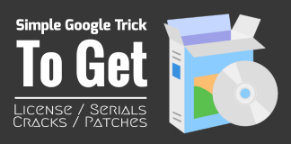 simple google trick to get lecence, serial, cracks and patch