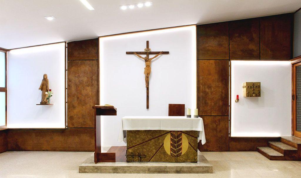 Reforma de parroquias en Albacete.