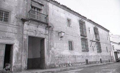 Fachada del Palacio de la Vicaría. Segunda mitad del s. XX.