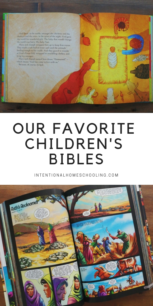 Our favorite children's Bibles - the best Bibles for kids