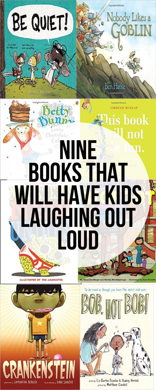 Nine More Funny Picture Books That Will Have Kids Laughing Out Loud