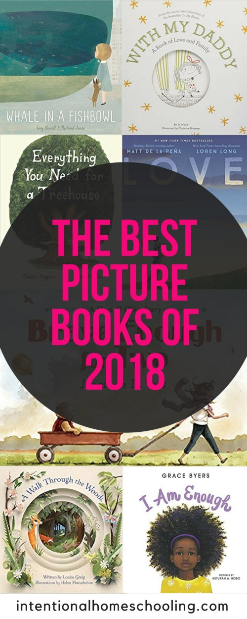 Check out these awesome picture books that have been published in 2018 - the best picture books of 2018.