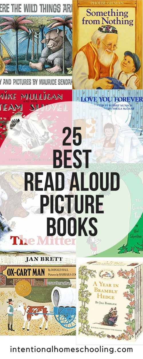 The absolute best read aloud picture books - as voted by homeschool mothers