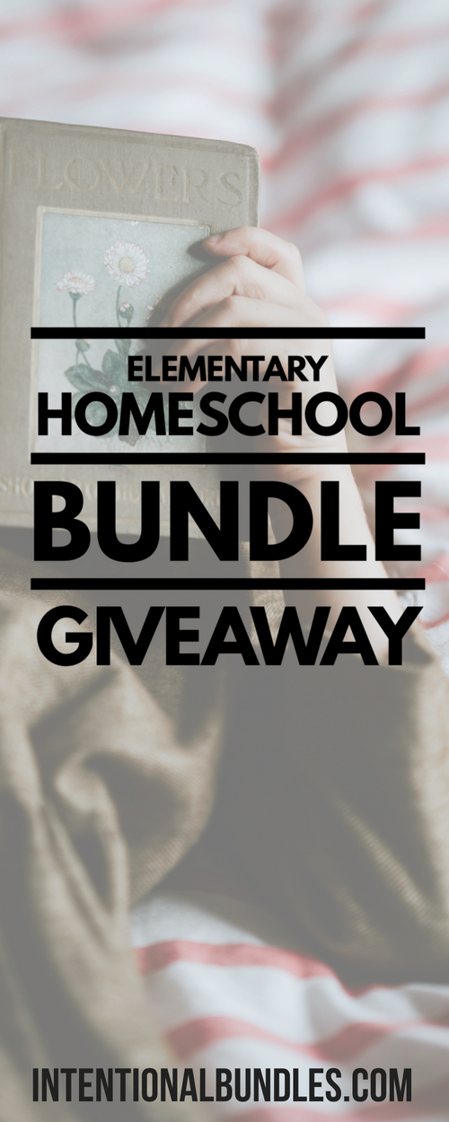 Enter to win over $270 in elementary homeschool products through this giveaway!