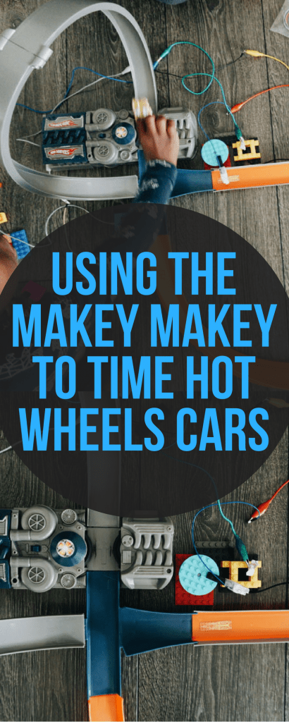 Makey Makey STEM Kit - using it to time how fast your Hot Wheels Cars can go!