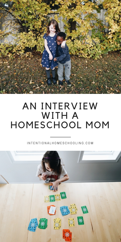 A Homeschool Interview with a homeschool mom - favorite homeschool resources, how to answer the famous socialization question and more!