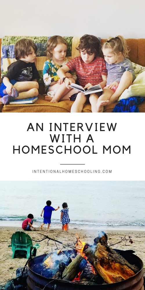 A Homeschool Interview - a peek into the lives of a homeschooling family