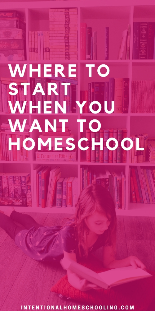 Where to start when you want to homeschool