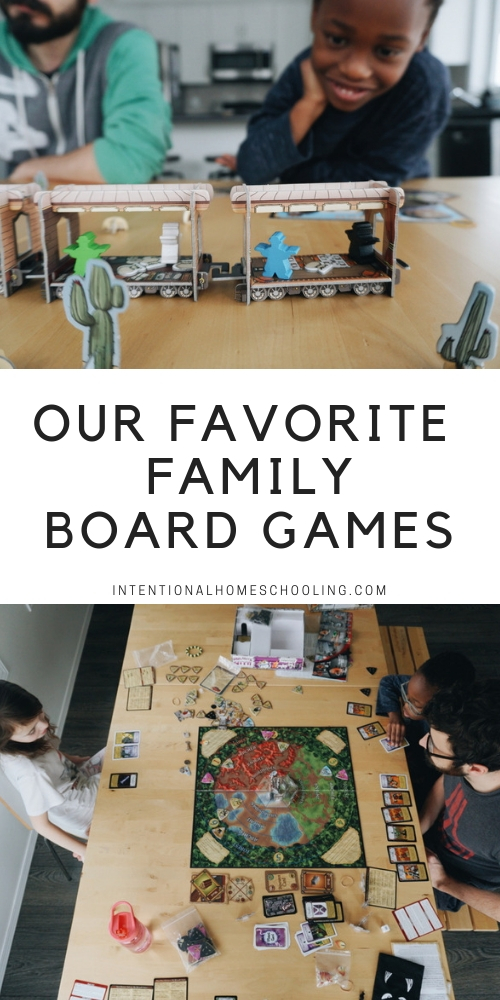 The Best Family Board Games - they are fun and educational