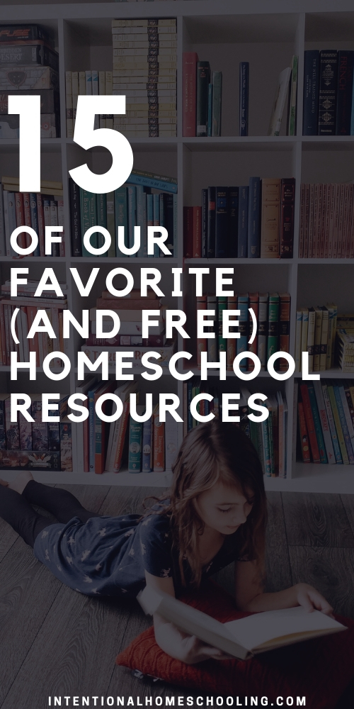 Our Favorite, Free Homeschool Resources