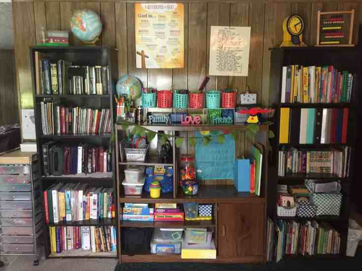 Intentional HOMEschool space and the set up