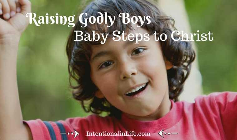 Raising godly boys isn't an easy task, but we mothers can rest assured that we do not face it alone! Jesus wants our boys to be godly even more than we do. More than that, He also knows what their hearts truly need.