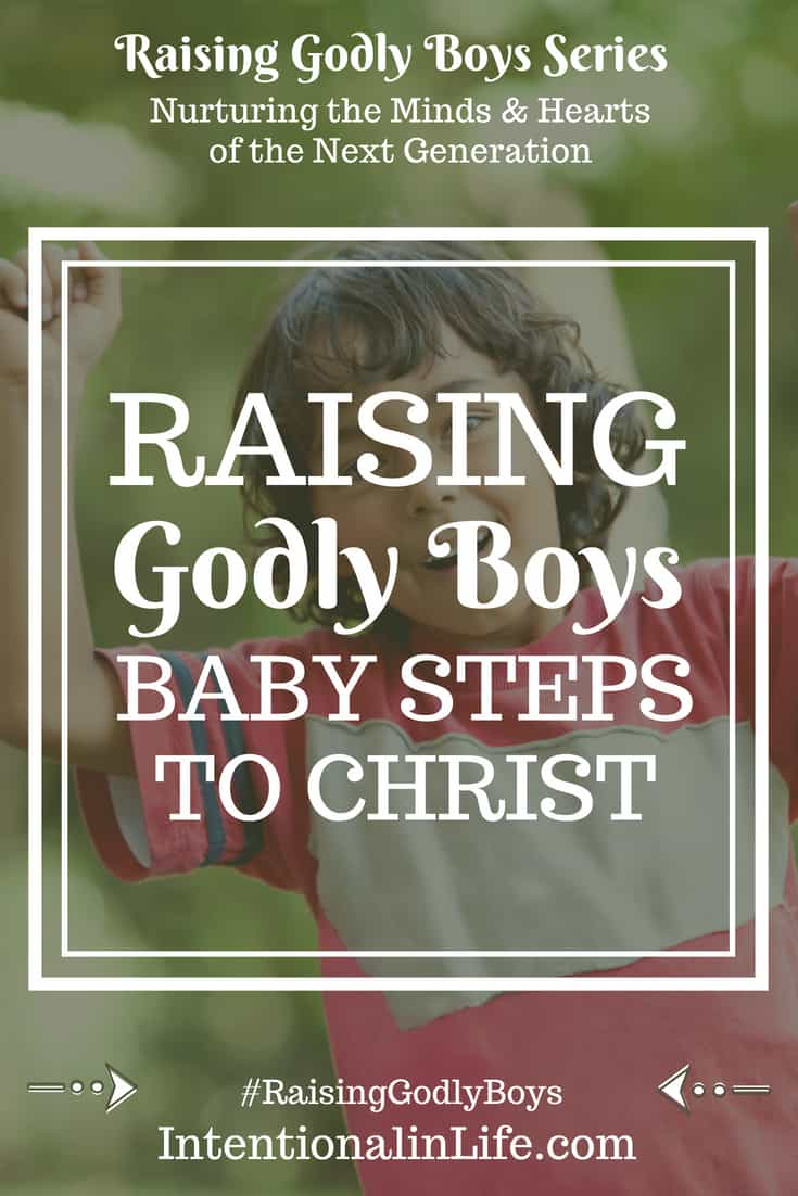 Raising godly boys isn't an easy task, but we mothers can rest assured that we do not face it alone! Jesus wants our boys to be godly even more than we do. More than that, He also knows what their hearts truly need. #raisinggodlyboys