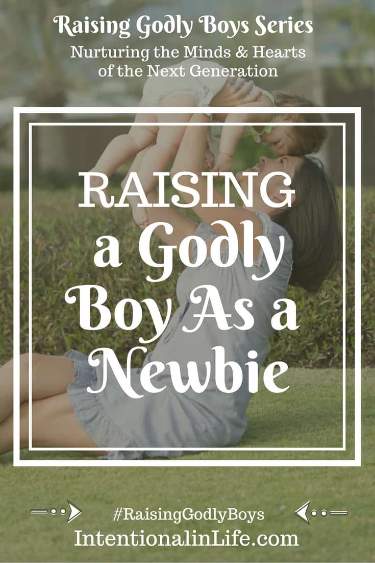 Are you raising a Godly Boy as a Newbie? If you are a new Christian then you may be wondering where to start. Jessica shares some excellent starter tips.