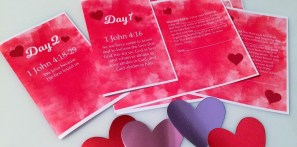 7 Days of Scriptural Valentine Cards