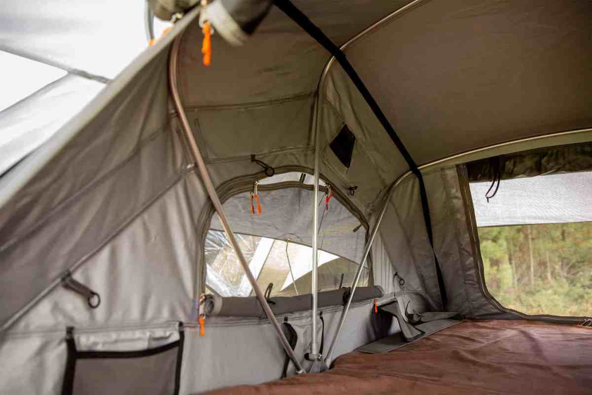 Our superb Mt Brown Roof Top Tent by intenze.co.nz