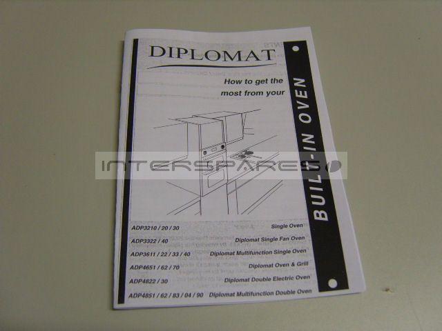 Diplomat Cooker  Oven INSTRUCTION MANUAL INSMANRANGER