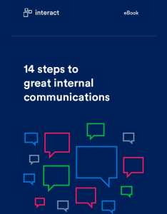 steps to great internal communications also comms ideas your employees will love interact software rh intranet