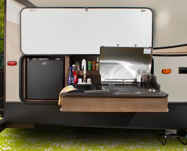 rvs with outdoor kitchens for sale - moore's rv blog