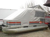 Turn Your Pontoon Into a Camping Tent - Rocky Mountain RV ...