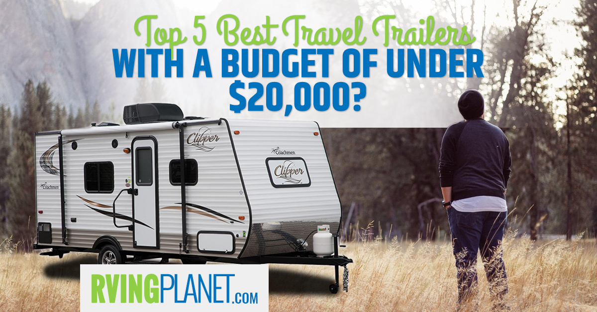 Diagram Of Bunkhouse Top 5 Travel Trailers Under 20 000 On A Budget Rvp