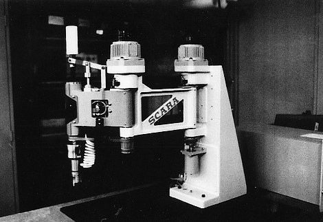 The first prototype of the SCARA, Hiroshi Makino