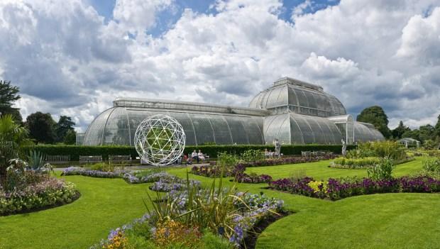 'BigB' Imagined as an Explorer in Kew Gardens