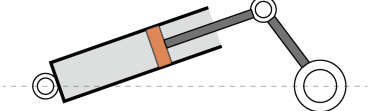 Figure 21. The slider-crank mechanism in prototype