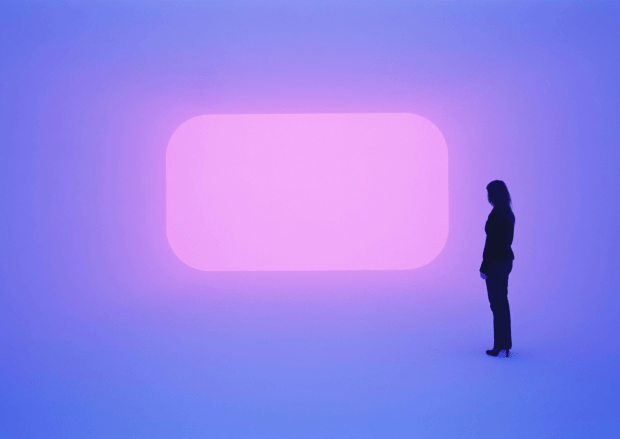 "Fig.3 Turrell creates a similar experience of ""Ganzfeld"""