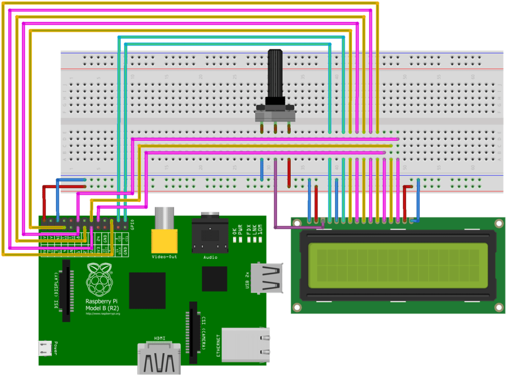 medium resolution of wiring diagram for lcd screen and raspberry pi