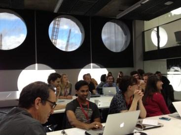 Journalism & design thinking session