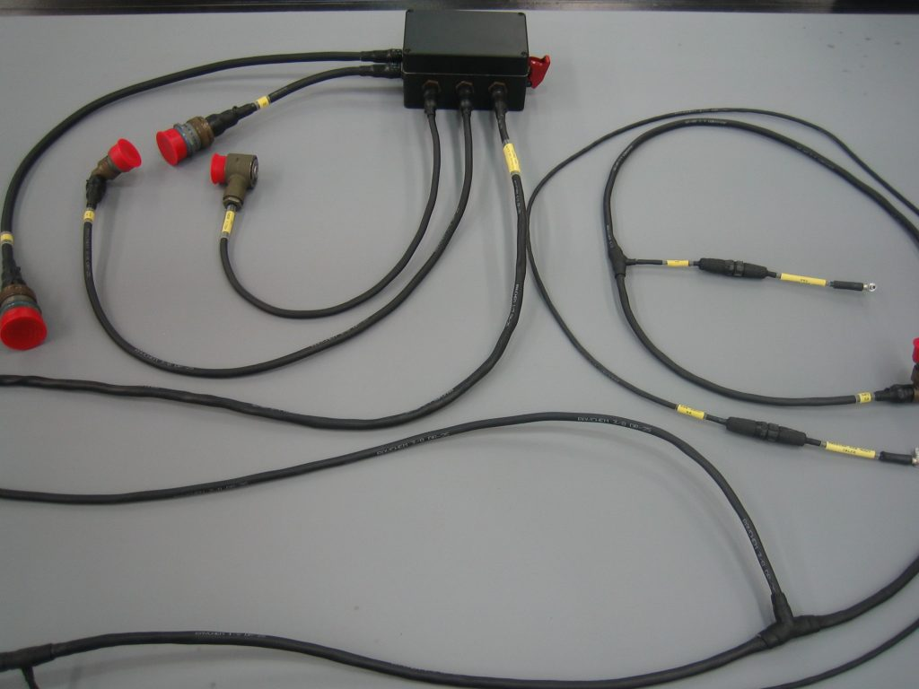 hight resolution of electrical wire cable assemblies