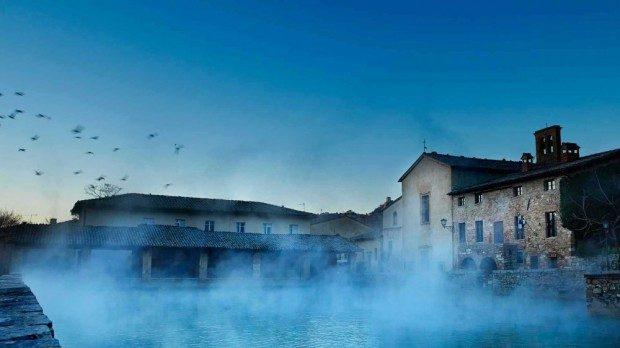 Toskana Thermen  traditionelle Badekultur der Rmer