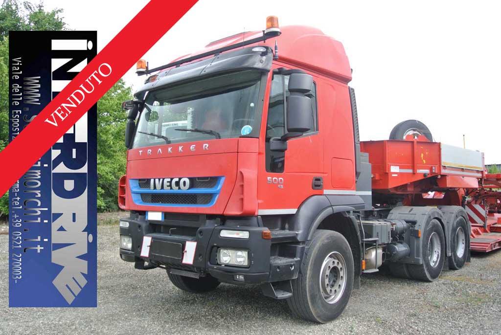 iveco trakker 500 6x4 trattore eccezionale usato