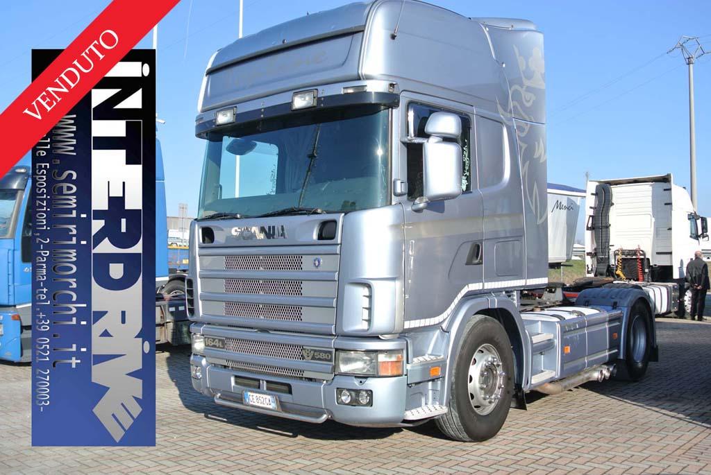 Scania 580 164L top line Trattore Stradale usato
