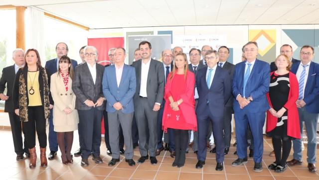 Alianza de las patronales de Aragón, Cataluña y la Comunitat en defensa de infraestructura para sus territorios