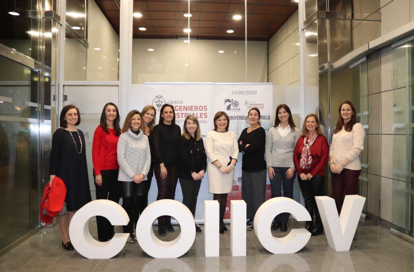 Isabel Bonig se reúne con una representación de colegiadas del COIICV