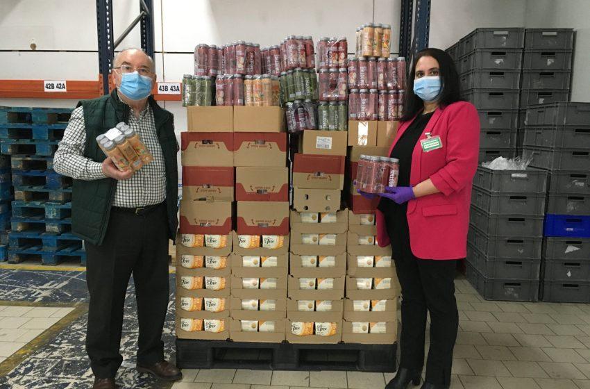 Mercadona dona 248.000 kilos de alimentos a entidades sociales de la Comunidad Valenciana en lo que va de año