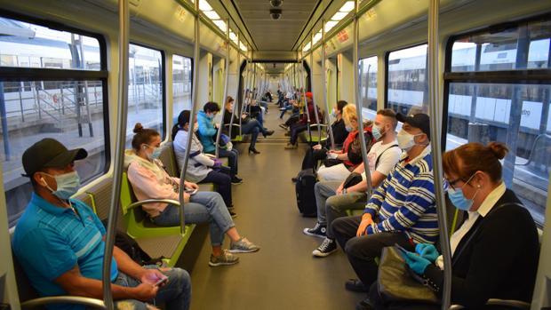 La Generalitat facilitó la movilidad de 2,5 millones de personas usuarias en Metrovalencia en agosto, un 22,6% más que en 2020