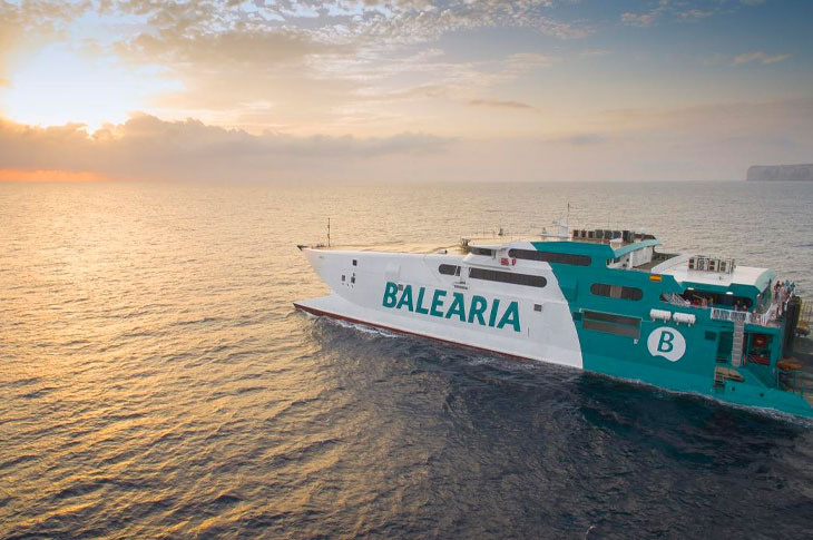 """Baleària, primera naviera en obtener certificación Global Safe Site Covid-19 que le acredita como """"espacio seguro"""""""