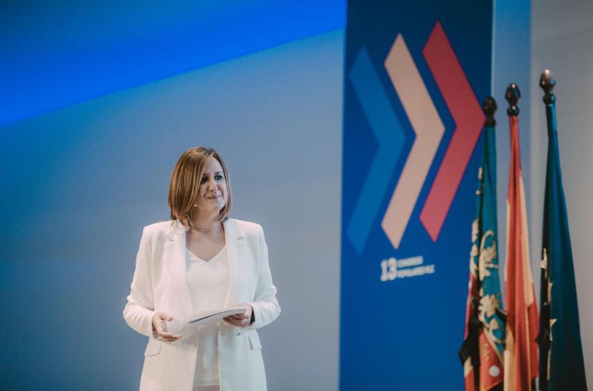 """María José Catalá: """"Ribó es el pasado y el Partido Popular el futuro de la ciudad de Valencia"""""""