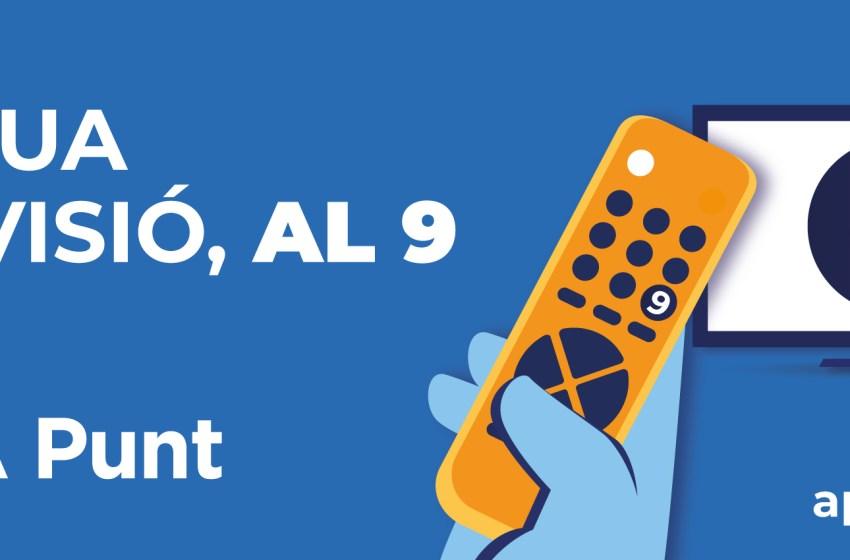 À Punt quiere recuperar el número 9 del mando de la televisión